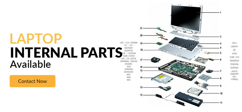 Laptop Parts Available